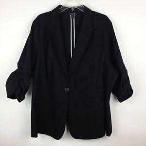 Torrid | One Button Black Blazer Size 4 or 4X